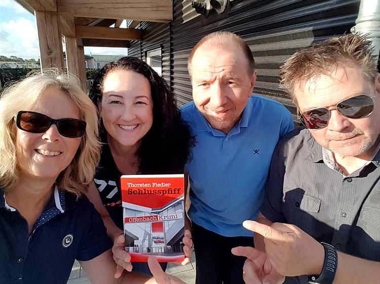 Kriminalhauptkommissar Adi Hessberger macht Urlaub in Holland