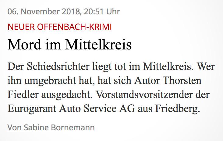 Thorsten Fiedler | PR Bericht Wetterauer Zeitung